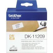 Brother Adress labels white 29 x 62 mm 800 pcs. DK-11209