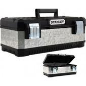 """Stanley - Εργαλειοθήκη Μεταλλική 26"""" (γαλβανισμένη) με πλαστικό καπάκι 1-95-620"""