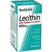 HealthAid Lecithin 1000mg & Co-Q10 & Vitamin E 30s