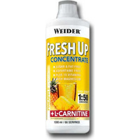 Weider Body Shaper Fresh Up Concentrate L-Carnitine Ανανάς 1000ml