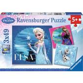 Ravensburger Παζλ - Disney Frozen (3x49 κομμ.) - 09269 Toys