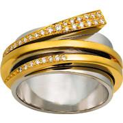 Δαχτυλίδι Κ18 με Διαμάντι, 010640