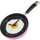 BasicXL Ρολόι Τοίχου σε Σχήμα Τηγανιού Ροζ BXL-FPC 10P