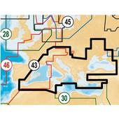 Χάρτες Navionics Gold 43XG PLUS