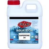 Er Lac Βερνίκι Επίπλων Νερού Aquatec 1K SuperFine Ματ 10% Διαφανές 1L