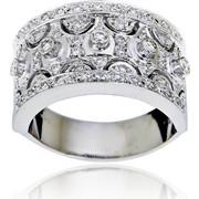 Δαχτυλίδι Κ18 με Διαμάντια, 000995