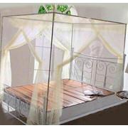 Κουνουπιέρα Κρεβατιού με Συναρμολογούμενο Σκελετό Αλουμινίου