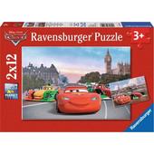 Ravensburger Παζλ - Disney Pixar Cars (2x12 κομμ.) - 07554 Toys