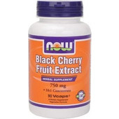 Now Black Cherry Fruit Extract 750 mg (10:1) 90 vcaps
