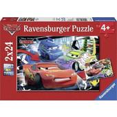 Ravensburger Παζλ - Disney Pixar Cars (2x24 κομμ.) - 08870 Toys