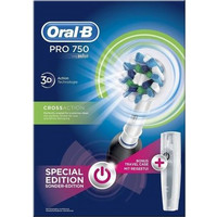 Braun Oral-B Professional Care 750 Cross Action Limited Edition Black