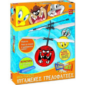 REAL FUN TOYS ELECTRONIC FLYING MADCAP - LOONEY TUNES (8031) EAN-017326