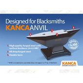 Αμόνι 35Kg KANCA εξολοκλήρου από Σφυρήλατο Ατσάλι βαμμένης (επισκλήρυνση) επιφάνειας