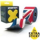 SPORTTAPE Extra Sticky Flex Kinesiology tape (UK) 5cm x5m (Ταινίες Κινησιοθεραπείας)