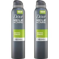 Dove Men Care Spray Extra Fresh 2x150ml