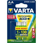 VARTA READY TO USE ACCU 2x AA 2100mAh - (12841)