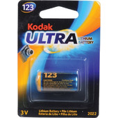 Kodak Ultra K123LA 3V Μπαταρία Λιθίου Για Φωτογραφίκές Μηχανές