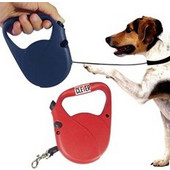 Λουράκι σκύλου με ρυθμιζόμενο μήκος και αυτόματο μάζεμα 101327