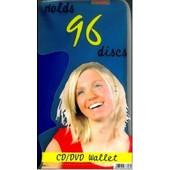 HAMA Θήκη για 96 DVD/CDs DEEP BLUE
