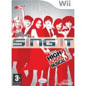 Sing It High Scholl Musical 3 Senior Year Wii