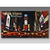 Κάρτα Ευχών Ανάγλυφη Με Ασημοτυπία- Χρυσοτυπία ΝΕW YORK Times Square