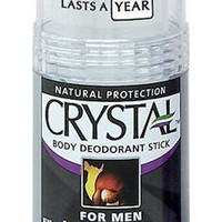 Crystal Body Deodorant Stick For Men 120gr
