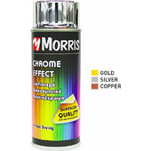 Morris Chrome Effect Σπρει Χρωμε 400ml