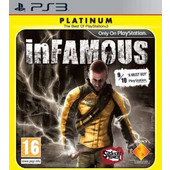 inFamous: Platinum (USED) - PS3