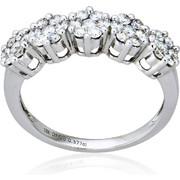 Δαχτυλίδι Κ18 με Διαμάντια, 009999