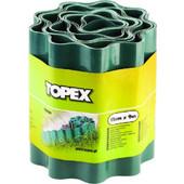 Φράκτης κήπου 9m, ύψος 15cm, Topex 805010