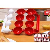 Εργαλείο Για Τέλεια Γεμιστά Κεφτεδάκια Mighty Meatball - OEM - 001.5067