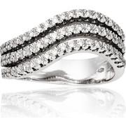 Δαχτυλίδι Κ18 με Διαμάντια, 003480