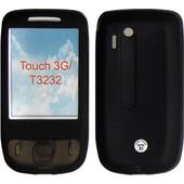ΘΗΚΗ HTC T3232 touch 3G ΣΙΛΙΚΟΝΗΣ BLACK VOLTE-TEL