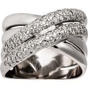 Δαχτυλίδι Κ18 με Διαμάντια, 003512