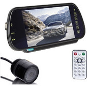 Καθρέφτης Αυτοκινήτου Οθόνη 7in USB/SD Player με Bluetooth &ampamp Κάμερα Οπισθοπορείας