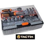 Tactix 365060 Σερ Καρυδάκια και Μύτες 40 τεμαχίων
