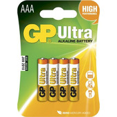 GP Ultra Alkaline Battery AAA