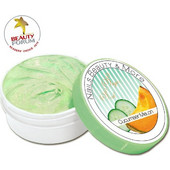 Akzent Cucumber Melon Body Scrub 200ml