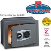 Technomax Χρηματοκιβώτιο εντοιχιζόμενο DC Combi, με μηχανικό κωδικό