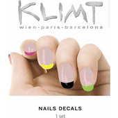 Klimt Nail Laquer Tattoo Rainbow Nails