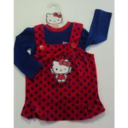Φορεματάκι Be-Be Hello Kitty βελούδο