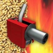 Καυστήρας πέλλετ Burnit, Μοντέλο Pell 150, Θερμική ισχύς 50-150kW, Αυτοκαθαριζόμενος