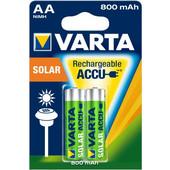 VARTA Solar Power 2AA 800mAh - (12854)