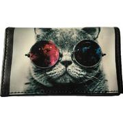 Πορτοφόλι Crazy Cat - Με Θήκη για την Ταυτότητα