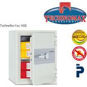 Technomax NGS Χρηματοκιβώτιο πυρασφαλείας για έγγραφα, με κλειδί