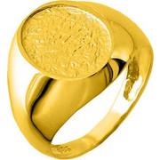 Χρυσό σεβαλιέ δαχτυλίδι Κ14