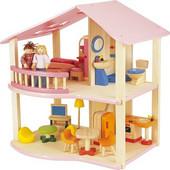 Pin Toys ροζ Κουκλόσπιτο