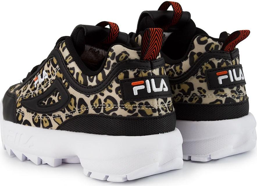 1010863 Fila σε Leopard Black | NAK Shoes