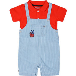 Tommy Hilfiger Peppy Dungaree Baby Σαλοπέτα για Μωρά KN0KN00843-497 b0bf1f0c821