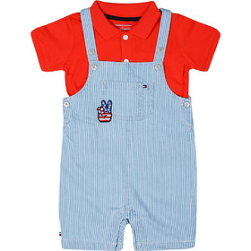 cb8afc3066a Tommy Jeans Peppy Dungaree Baby Σαλοπέτα για Μωρά KN0KN00843-497